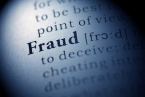 The word fraud